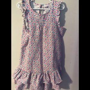 Polly & Friends Floral Print Size 6X Dress